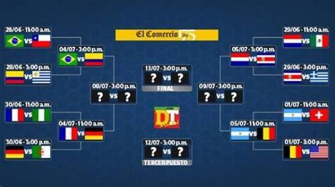 mundial 2014 mortadelo y brasil 2014 as 237 se jugar 225 n los cuartos de final del mundial brasil 2014 deporte total el