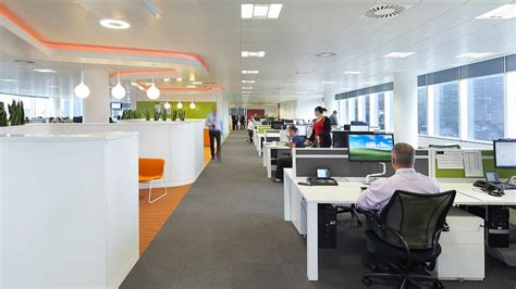 layout kantor google facebook open plan office to be rich in distractions abc