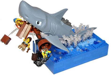 lego boat shark shark attack pirate mocs eurobricks forums