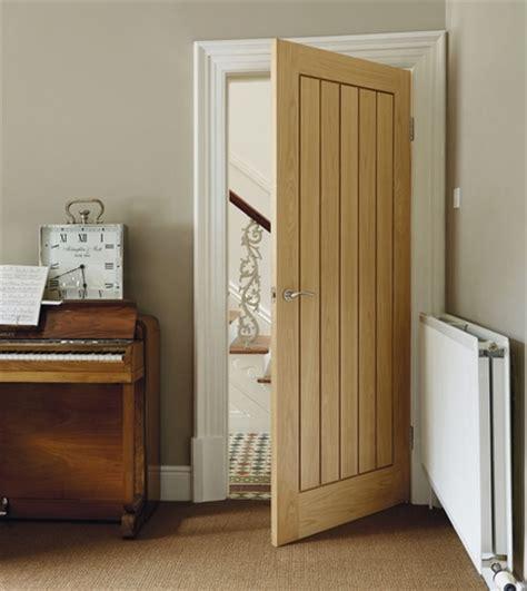 Howdens Interior Doors Doors Howdens Solid Rustic Oak Ledged Door