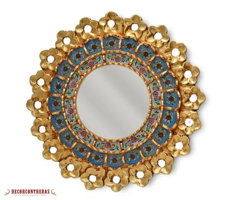 Handmade Decorative Mirrors - handmade small decorative wall mirror by decorcontreras