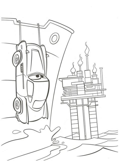 coloring pages of cars 2 the n de ausmalbild cars 2 cars 2