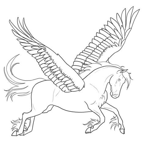 Coloring Page Unicorn With Wings by Unicorn With Wings Sheet Coloring Pages