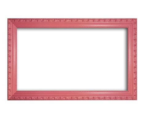 gum pink solid wood ornate frame 13 quot x19 quot non