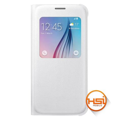 Original Samsung S6 S View Cover by Flip Cover Samsung Original S View Galaxy S6 Hsi Mobile