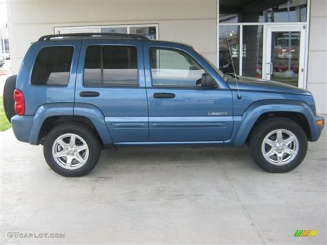 2004 Jeep Liberty Limited Atlantic Blue Pearl 2004 Jeep Liberty Limited 4x4 Exterior