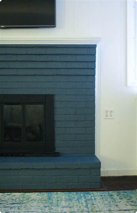 Best Way To Use A Fireplace by How To Paint A Brick Fireplace The Right Way Lovely Etc