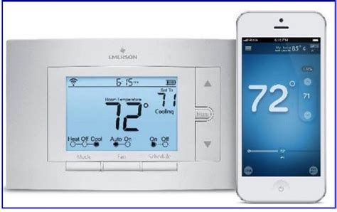 best iphone controlled thermostat heating and cooling