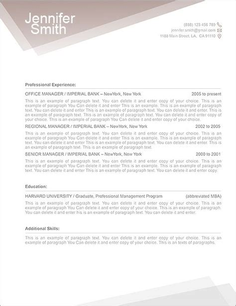 resume template for macbook cover letter exle cover letter template mac
