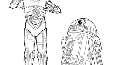 C 3po Coloring Pages by Wars The Awakens C 3po R2 D2 Coloring Page