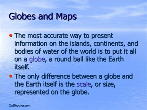 globe and maps difference between ppt chapter 1 the world of geography powerpoint