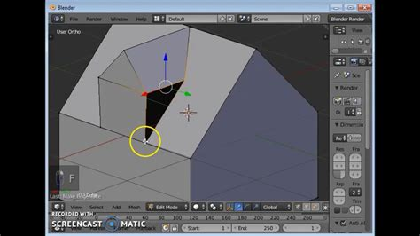 blender tutorial knife blender tutorial knife tool and adding faces youtube