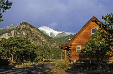 cabins for rent at mount princeton springs resort