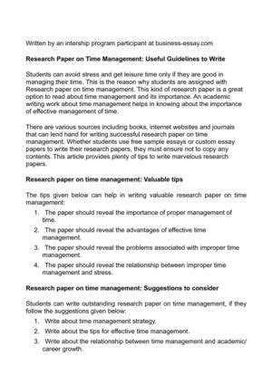 research paper strategies essay strategies for writing successful research papers