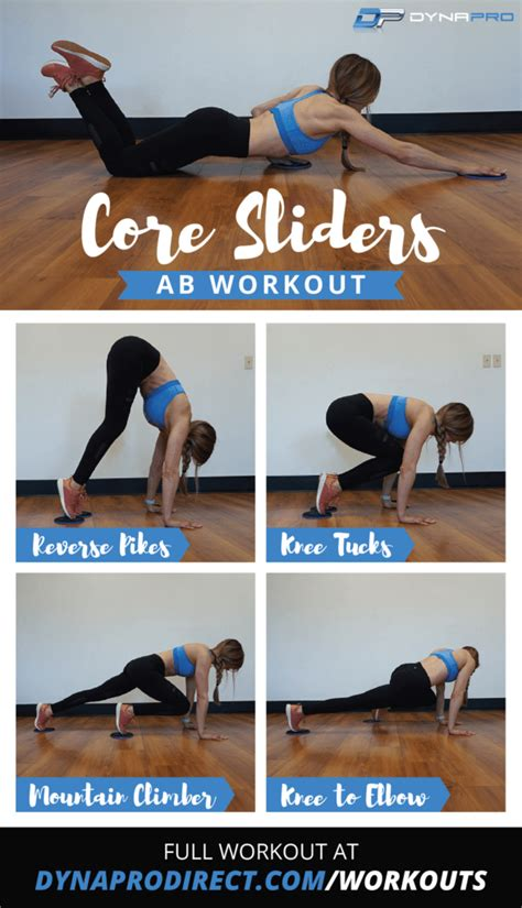sliders ab workout ab workouts workout workout guide abs workout routines