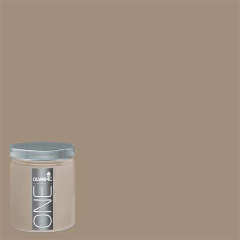 shop olympic  oz oyster shell interior satin paint sample