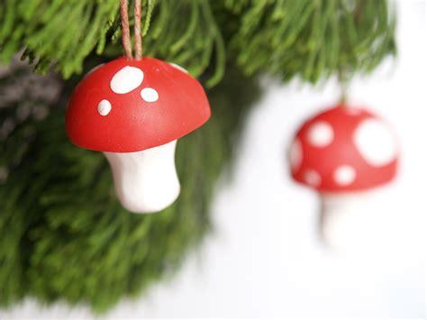diy toadstool christmas ornaments christmasornaments com