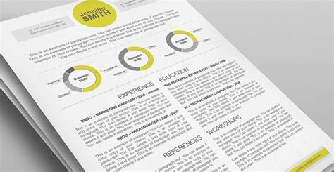 Top Resume Templates Including Word Templates The Muse Best Modern Resume Template