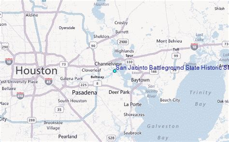 san jacinto texas map san jacinto battleground state historic site texas tide station location guide