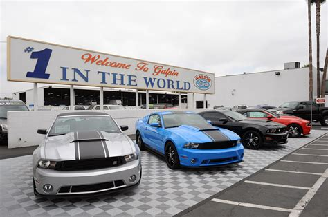 galpin ford claims title as largest mustang dealer for