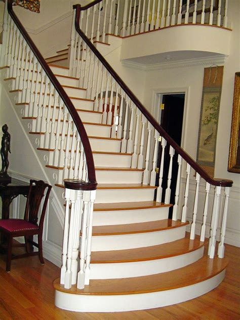 stairs in house long island custom stairs home staircase long island