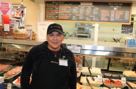 get to our new deli clerk annel delucchi s market