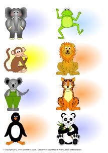editable cartoon animal sticker templates sb sparklebox