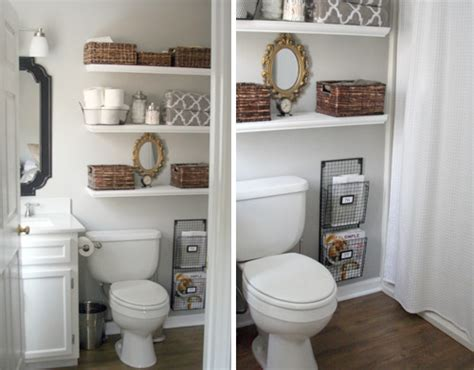 Reader Redesign 1k Goes A Long Way Young House Love Bathroom Shelves Above Toilet