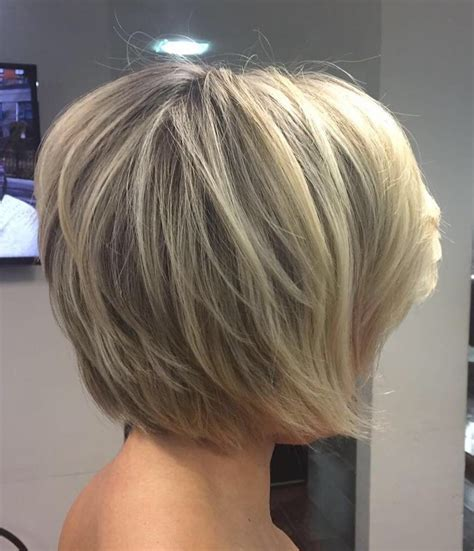 all one layer bob hairstyle ultra feathered long layered chin length bob sassy cuts
