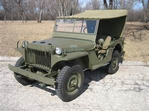 Jeep Ma Willys Overland Registry Photo Detail