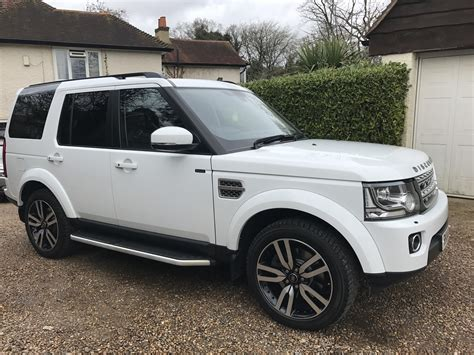luxury land rover land rover discovery 4 sdv6 hse luxury auto gs vehicle