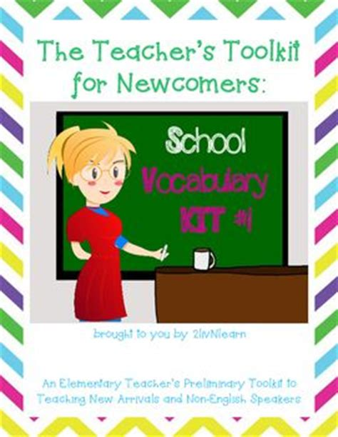 the language teacher toolkit the teacher s toolkit for newcomers vocabulary kit 1 words is a starter resource for