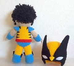 amigurumi wolverine pattern ravelry wolverine inspired amigurumi doll pattern by thu