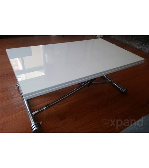 Space Saver Coffee Table Transforming Space Saving Table Expand Furniture