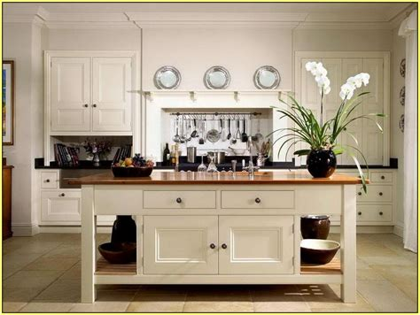 freestanding kitchen island home design ideas