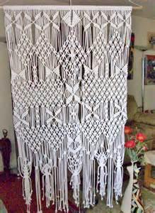 Macrame Room Divider Wedding Curtain Room Divider Wall Hanging Handmade Macrame Wall Hangings