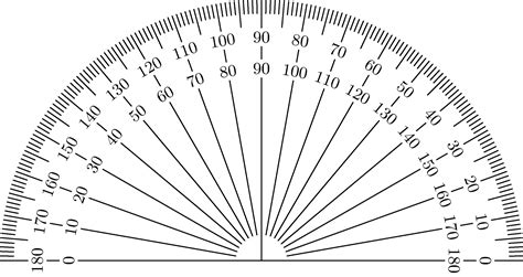 printable protractor small large small printable protractor 360 176 180 176 pdf