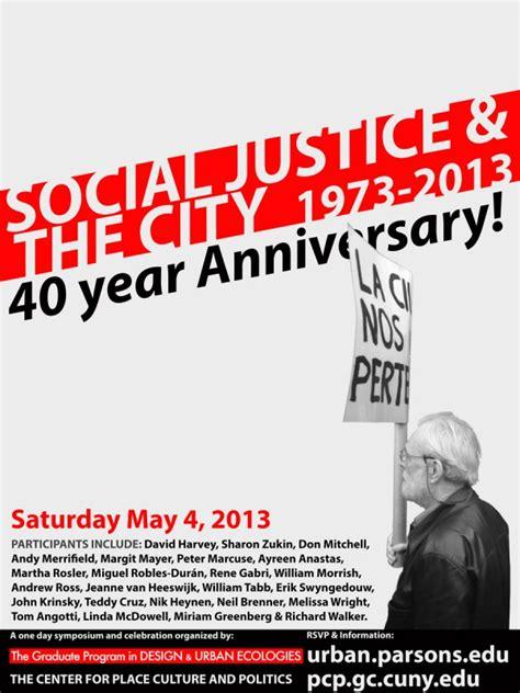 social justice   city  anniversary celebration  center  place culture
