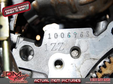 Toyota Corolla Engine Number Id 1404 Celica 1zz Fe Vvti Motors Toyota Jdm Engines