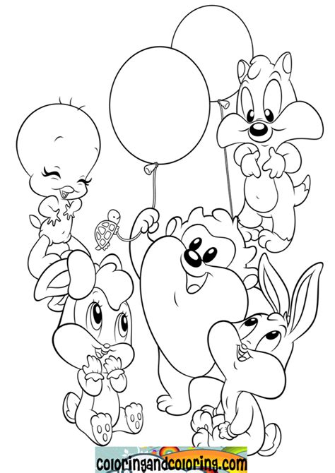 free baby looney tunes coloring pages letscoloringpages