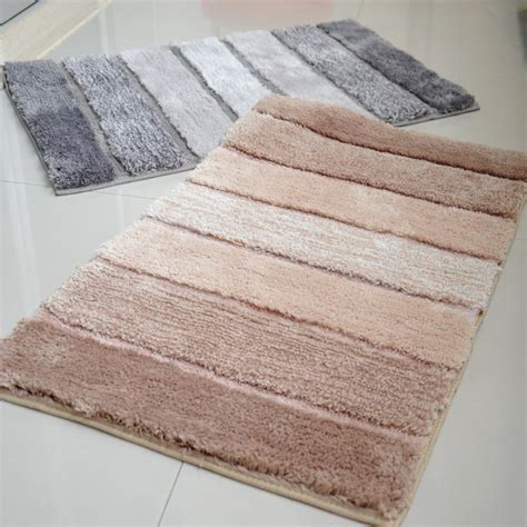 Rubber Bath Mat Natural Bamboo Bath Mats Bathroom Mats And Rugs