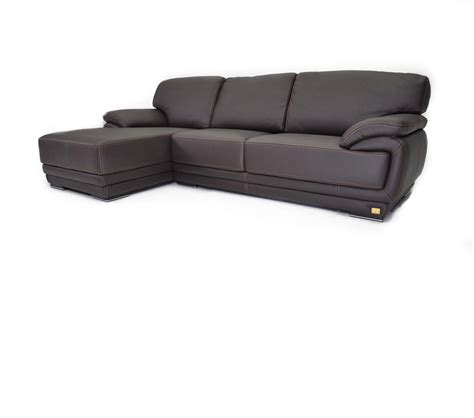 dreamfurniture geneve italian leather sectional sofa