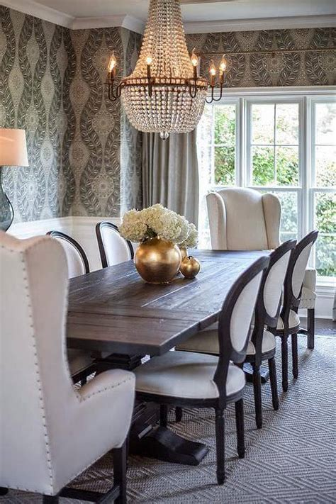 black and white themed room dining room designs trends 2016 dining room designs