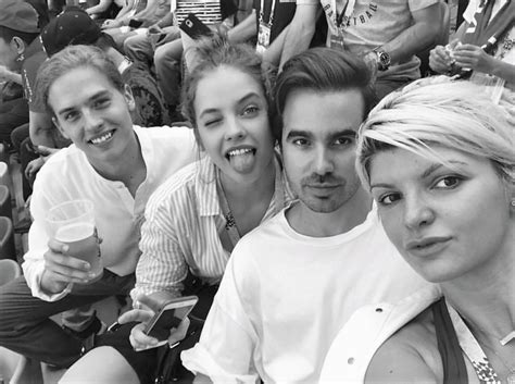 barbara palvin dylan sprouse dylan sprouse attends the world cup finale with barbara