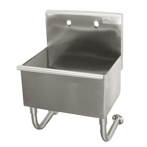commercial wall mount sink advance tabco wss 14 21 wall mount commercial sink w