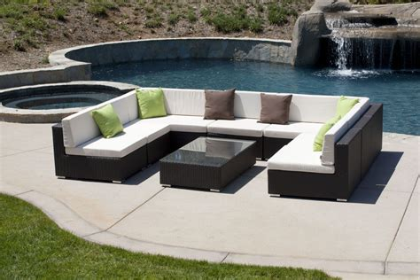 Outdoor Wicker Sectional Clearance by Outdoor Furniture Sectional Sofa Patio Sofas And Loveseats