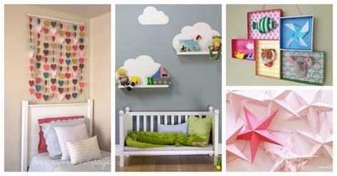 ideas para decorar en habitacion ideas para decorar una habitaci 243 n infantil manualidades