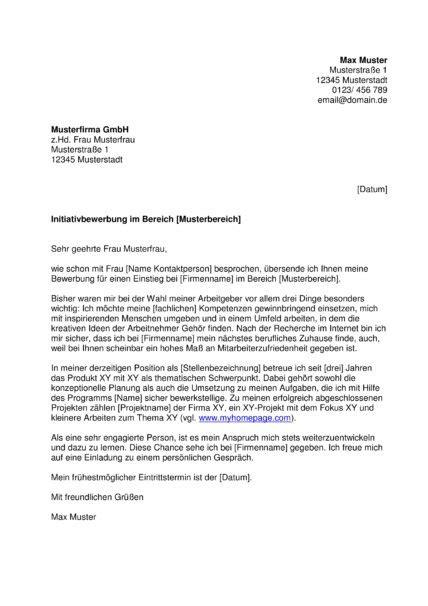 Initiativbewerbung Anschreiben Arzt muster f 252 r initiativbewerbung anschreiben 2018