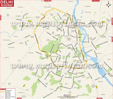 pusa road map delhi road map