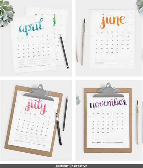 Kalender 2016 Namen 2016 Free Printable Calendars Lolly